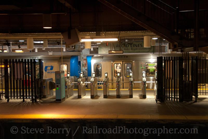 Photo 1943<br /> Port Authority Trans Hudson; Pennsylvania Station, Newark, New Jersey<br /> October 30, 2010