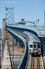 Photo 4063<br /> Port Authority Transit Corporation; Benjamin Franklin Bridge, Camden, New Jersey<br /> April 9, 2017