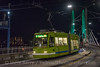 Photo 5348<br /> Portland Streetcar<br /> Tilikum Crossing, Portland, Oregon<br /> October 19, 2018