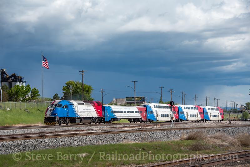 Photo 5559<br /> FrontRunner (UTA)<br /> Salt Lake City, Utah<br /> May 8, 2019