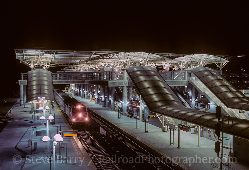 Photo 3775<br /> Caltrain; Millbrae, California<br /> March 2005