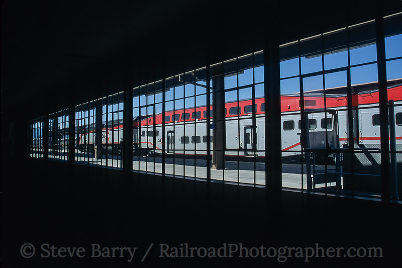 Photo 3937<br /> Caltrain; Diridon Station, San Jose, California<br /> March 2005