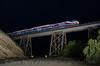Photo 3329<br /> Altamont Commuter Express; Greenville Bridge, Livermore, California<br /> March 12, 2015