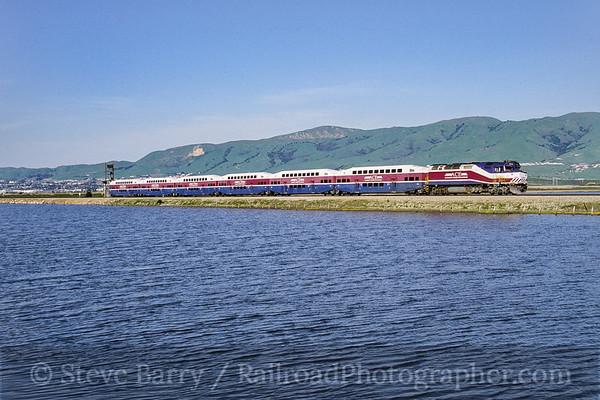 Photo 3793 Altamont Commuter Express; Alviso, California March 2005