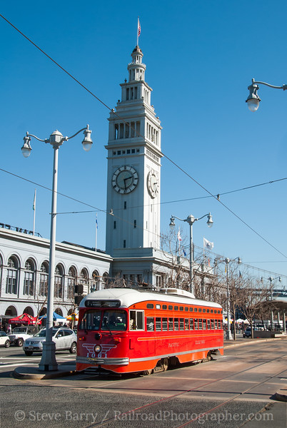 Photo 2336<br /> MUNI; The Embarcadero, San Francisco, California<br /> March 8, 2012