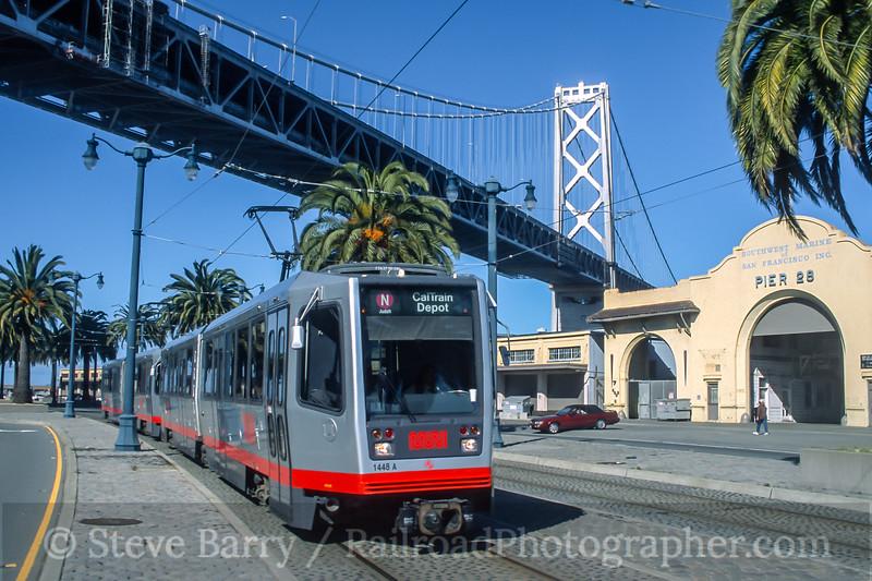 Muni; San Francisco CA; 3/2002