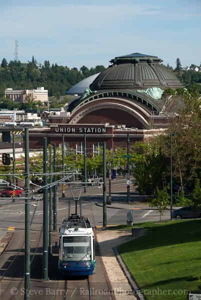 Photo 2121<br /> Tacoma Link; Tacoma, Washington<br /> June 21, 2011