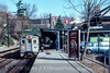 Photo 4436<br /> Southeastern Pennsylvania Transportation Authority<br /> Chestnut Hill West, Philadelphia, Pennsylvania<br /> February 1983
