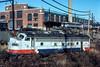 Photo 4874<br /> Southeastern Pennsylvania Transportation Authority<br /> Wayne Junction, Philadelphia, Pennsylvania<br /> January 1983