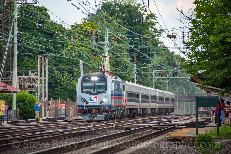 Photo 5071<br /> Southeastern Pennsylvania Transportation Authority<br /> Bryn Mawr, Pennsylvania<br /> July 11, 2018