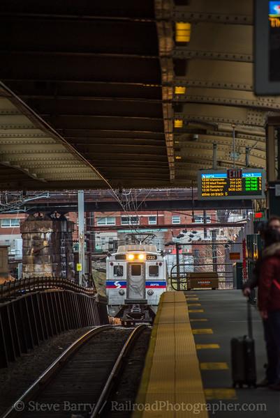 Photo 5438<br /> Southeastern Pennsylvania Transportation Authority<br /> 30th Street Station, Philadelphia, Pennsylvania<br /> January 5, 2019