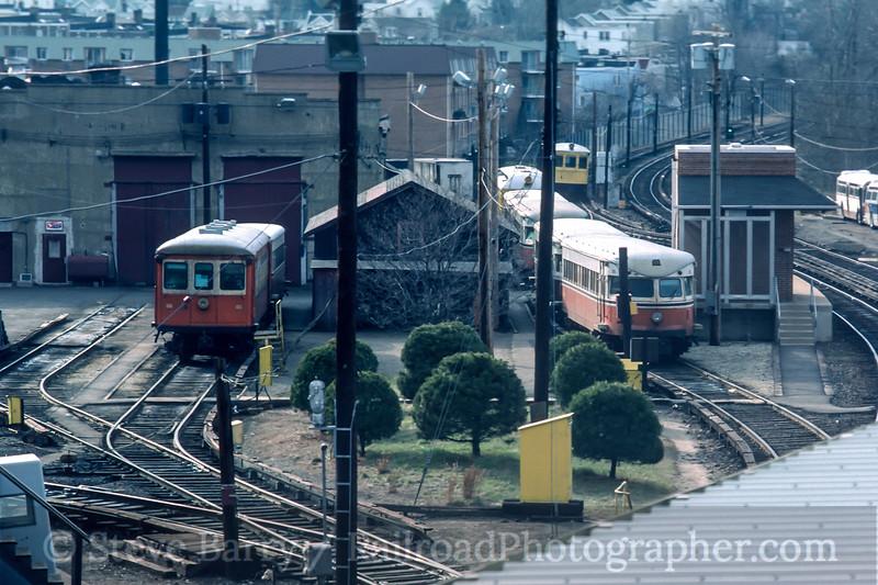 Photo 4733<br /> Southeastern Pennsylvania Transportation Authority<br /> 69th Street Shop, Upper Darby, Pennsylvania<br /> March 1984