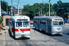 Photo 4559<br /> Southeastern Pennsylvania Transportation Authority<br /> Torresdale & Cottman, Philadelphia, Pennsylvania<br /> September 1988