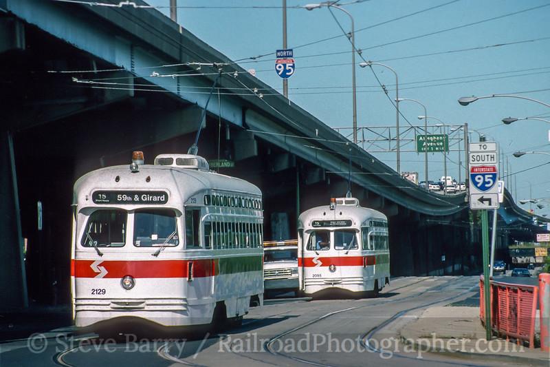 SEPTA; Philadelphia PA; 9/1992