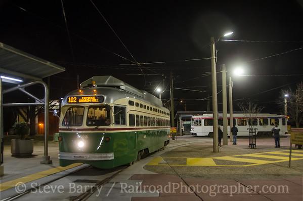 Photo 3289 Southeastern Pennsylvania Transportation Authority; 40th Street Portal, Philadelphia, Pennsylvania January 1, 2015
