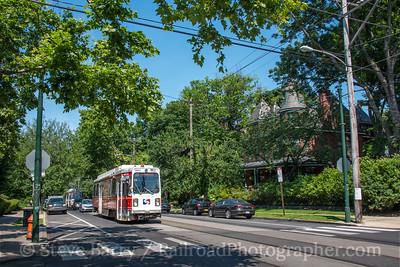 Photo 4867<br /> Southeastern Pennsylvania Transportation Authority<br /> Chester & 46th, Philadelphia, Pennsylvania<br /> June 17, 2018