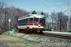 Photo 5088<br /> Norristown High Speed Line (SEPTA)<br /> Villanova Junction, Villanova, Pennsylvania<br /> April 1989