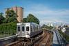 Photo 5113<br /> Market-Frankford Subway-Elevated<br /> 46th Street, Philadelphia, Pennsylvania<br /> July 28, 2018