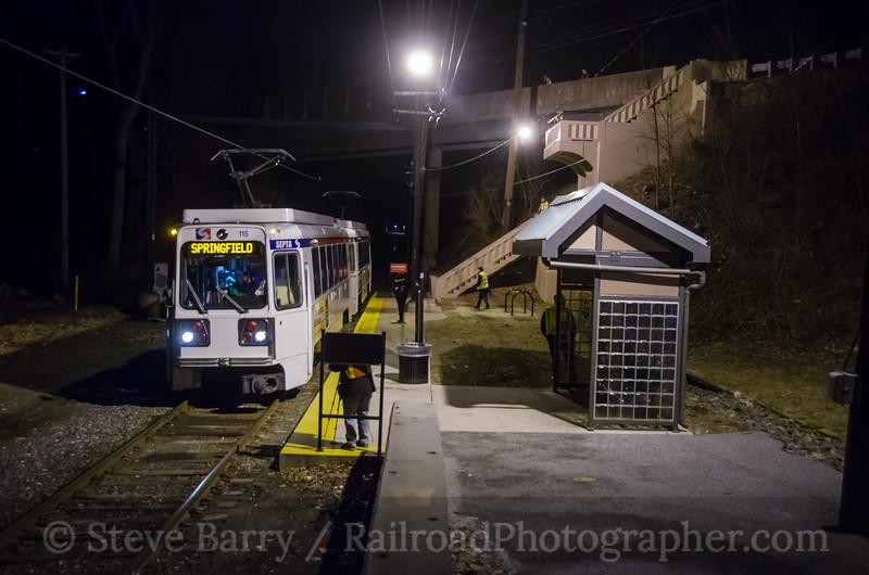 Photo 4036<br /> Southeastern Pennsylvania Transportation Authority; Springfield, Pennsylvania<br /> February 17, 2017