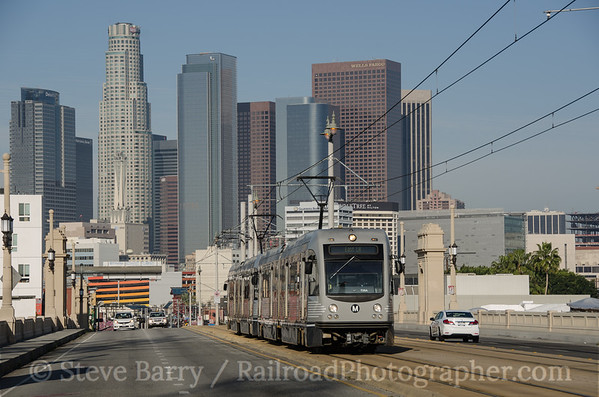 Photo 3321 Metro Rail; First Street, Los Angeles, California March 10, 2015