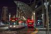 Photo 4319<br /> San Diego Trolley (MTS)<br /> America Plaza, San Diego, California<br /> September 18, 2017