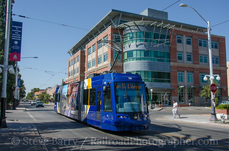 Photo 3874<br /> Sun Link; 2nd & Park, Tucson, Arizona<br /> July 14, 2016