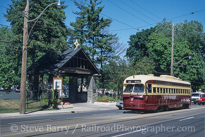 Photo 4102<br /> Toronto Transit Commission; Kingston & Rainsford, Toronto, Ontario<br /> September 2003