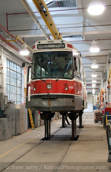 Photo 1852<br /> Toronto Transit Commission; Russell Car House, Toronto, Ontario<br /> April 18, 2010