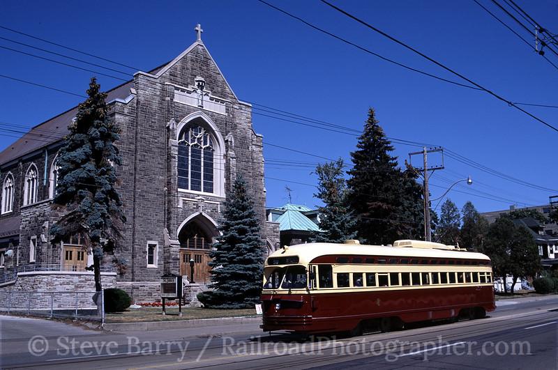 Photo 0521<br /> Toronto Transit Commission; St. Clare Avenue, Toronto, Ontario<br /> September 2003