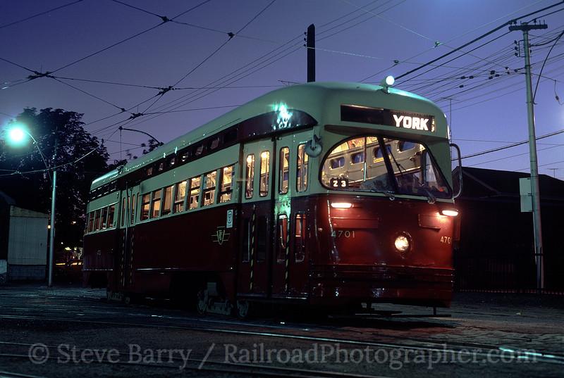 Photo 0815<br /> Toronto Transit Commission; Harbourfront, Toronto, Ontario<br /> September 1980