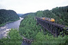 Photo 0447<br /> Quebec, North Shore & Labrador; Moise River Bridge, Sept-Isles, Quebec<br /> June 17, 2005