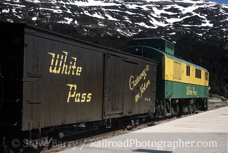 Photo 0066 White Pass & Yukon Route; Fraser, British Columbia June 2001