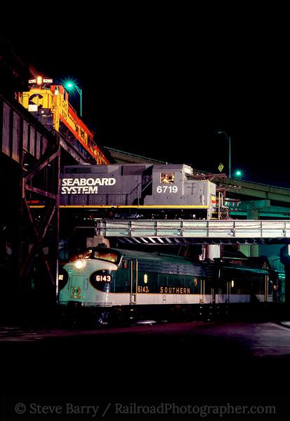 Photo 0516<br /> Triple Crossing; Richmond, Virginia<br /> July 19, 1983
