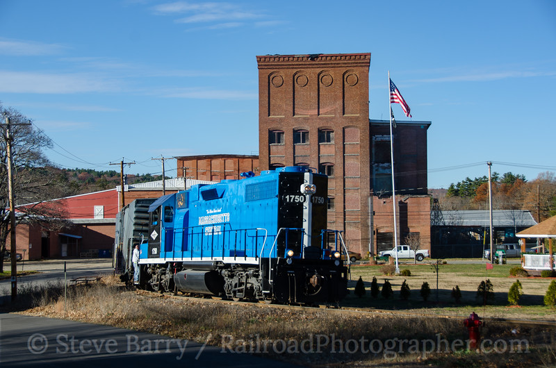 Photo 4003<br /> Massachusetts Central; Barre, Massachusetts<br /> November 14, 2016