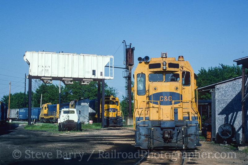 Photo 3513<br /> Columbus & Greenville; Columbus, Mississippi<br /> April 1992