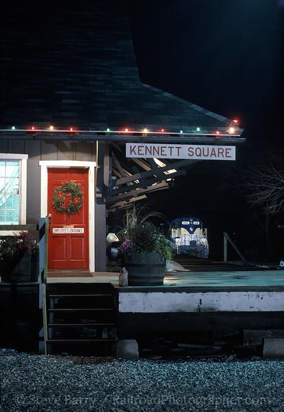 Photo 1063<br /> Delaware Valley; Kennett Square, Pennsylvania<br /> December 17, 1994