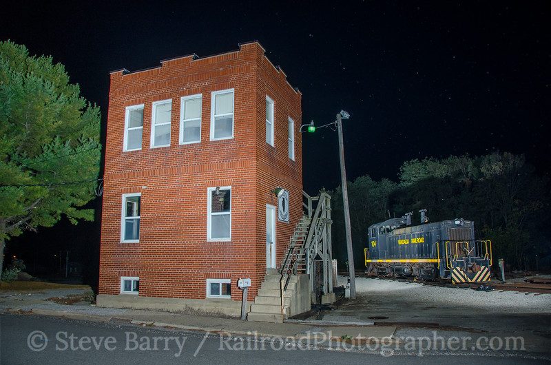 Photo 3978 Vandalia Railroad; Vandalia, Illinois October 18, 2016