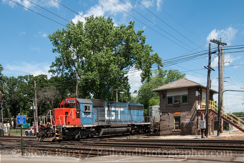 Photo 2373<br /> Canadian National (EJ&E); West Chicago, Illinois<br /> June 17, 2012