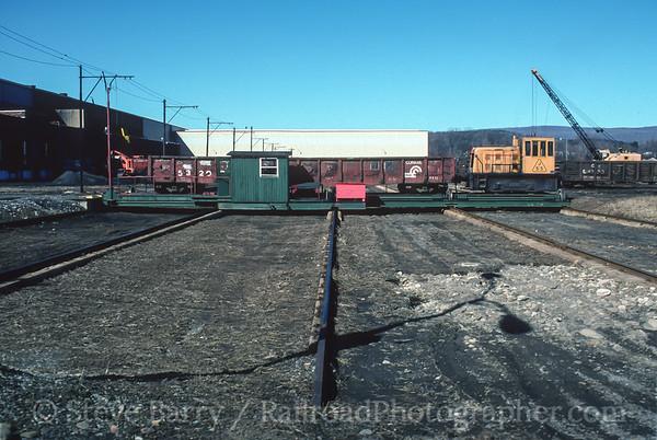 Photo 3774 Jersey Shore Steel; Avis, Pennsylvania February 1997
