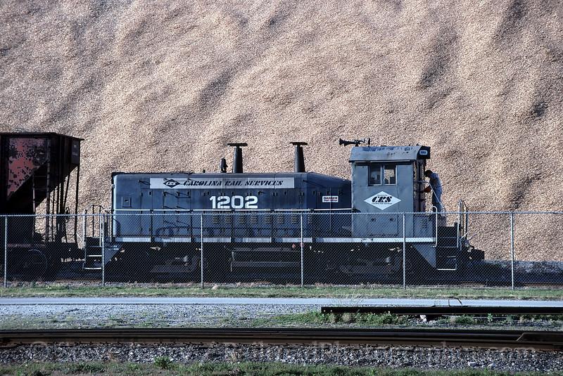 Photo 0684<br /> Carolina Rail Services; Port of Wilmington, Wilmington, North Carolina<br /> May 8, 1997