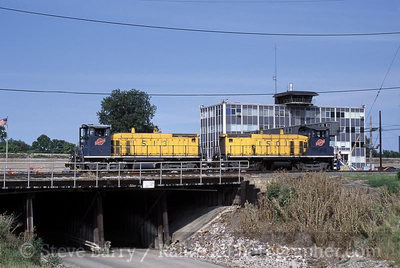 Photo 0715<br /> Alton & Southern; Gateway Yard, East St. Louis, Missouri<br /> June 2001