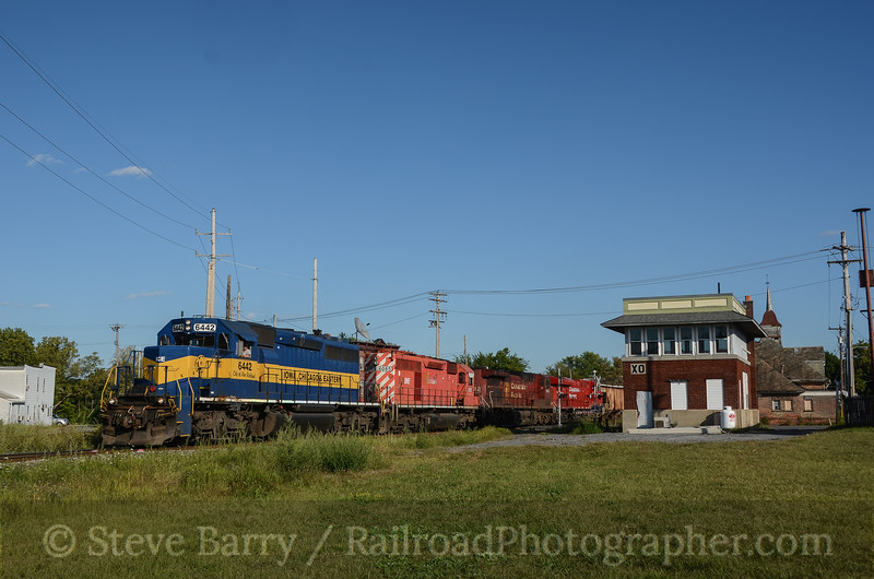 Photo 2446<br /> Canadian Pacific; XO Tower, Mechanicville, New York<br /> September 2, 2012