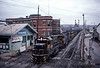 Photo 0442<br /> Pittsburgh & Lake Erie; McKeesport, Pennsylvania<br /> March 23, 1985