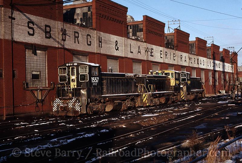 Photo 1622<br /> Pittsburgh & Lake Erie; McKees Rocks, Pennsylvania