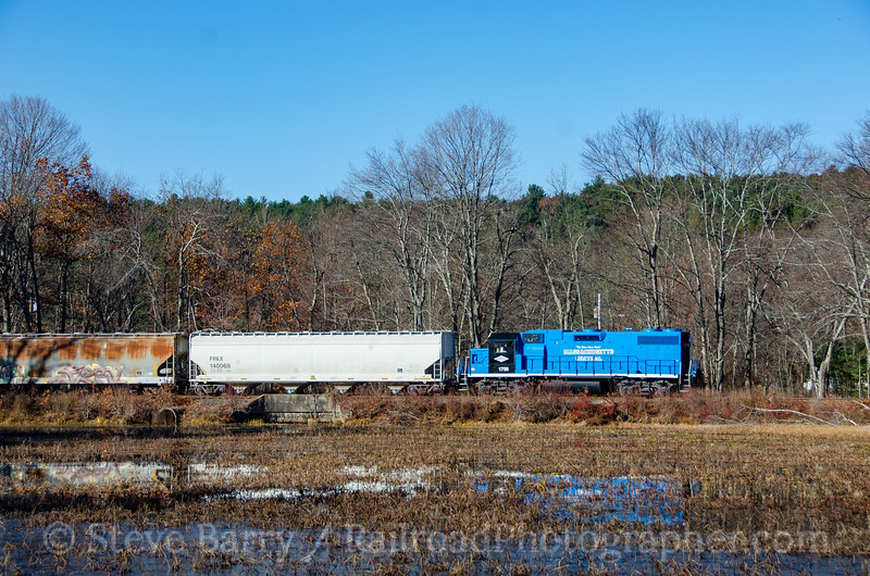 Photo 4002<br /> Massachusetts Central; Palmer, Massachusetts<br /> November 14, 2016