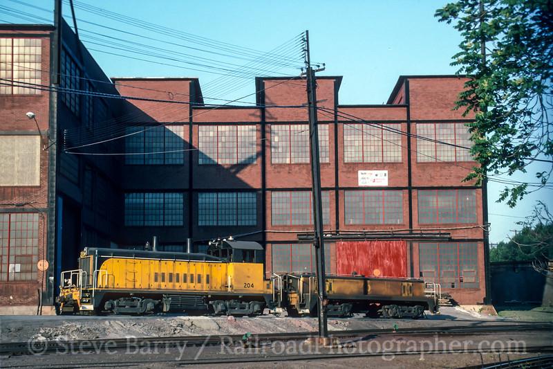 Photo 4869<br /> Philadelphia, Bethlehem & New England<br /> Bethlehem Steel, Bethlehem, Pennsylvania<br /> June 1993