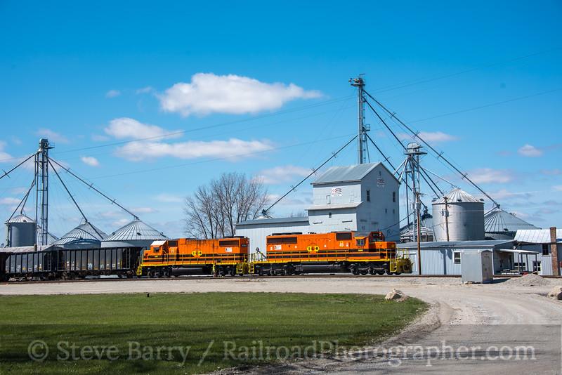 Photo 4629<br /> Indiana & Ohio<br /> Melvin, Ohio<br /> April 7, 2018