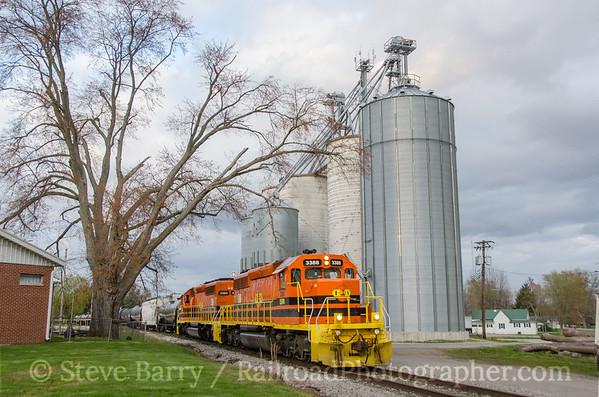 Photo 3728 Indiana Southern; Lyons, Indiana April 7, 2016