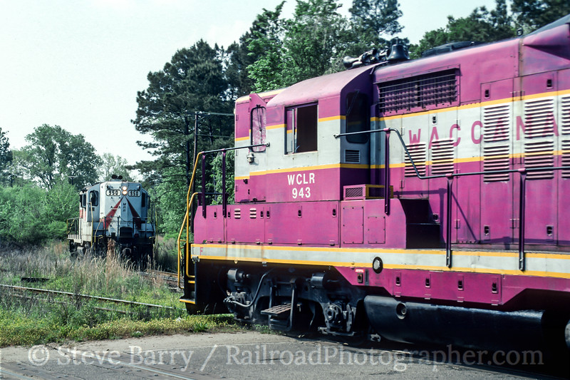 Waccamaw Coast Line and Mid Atlantic; Conway SC; 4/1992