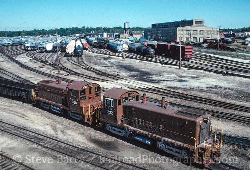 Photo 2847 Elgin, Joliet & Eastern; Joliet, Illinois October 1990